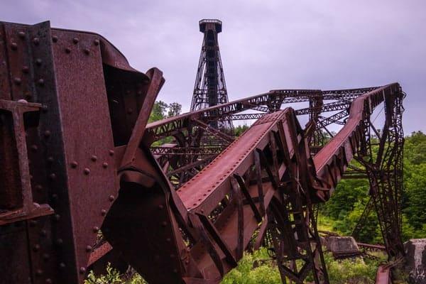 Visiting the Kinzua Viaduct.