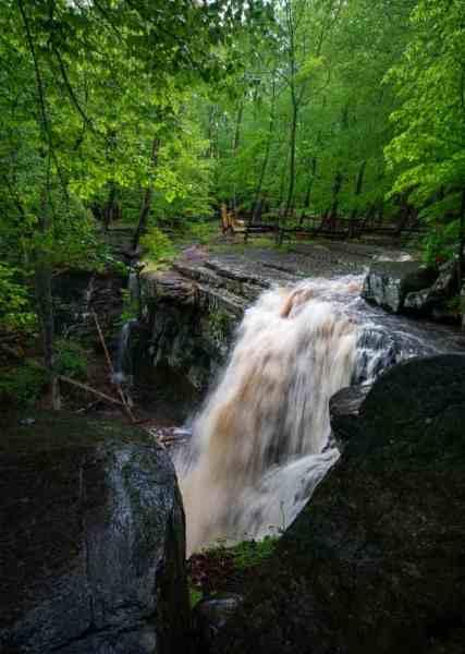 Waterfalls near Philly: High Falls at Ringing Rocks