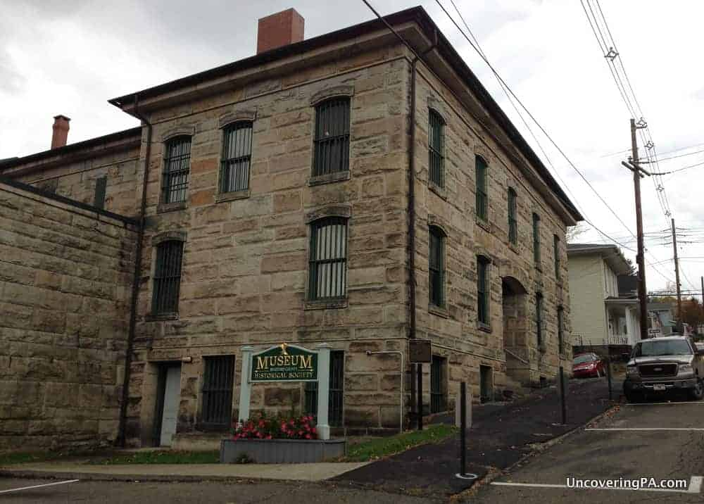 Visiting the Bradford County Museum in Towanda, Pennsylvania.
