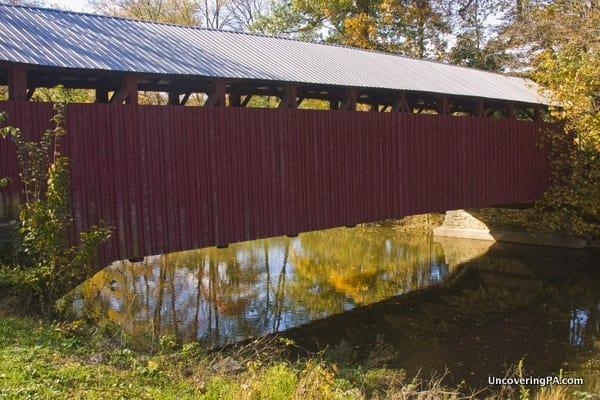 Beavertown Covered Bridge in Snyder County, Pennsylvania.