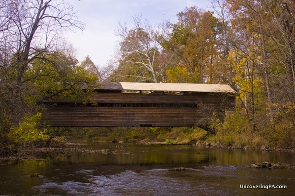 Rapp's Covered Bridge in Chester County, Pennsylvania.