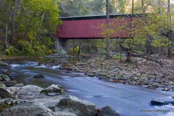 Things to do in Wissahickon Gorge: Thomas Mill Covered Bridge.