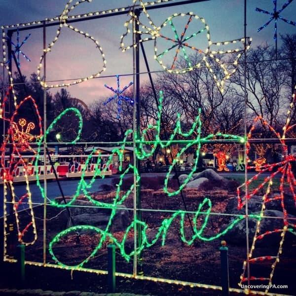 Christmas Candylane Hersheypark PA