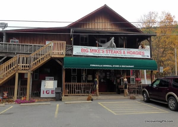 Forksville General Store in Forksville, Pennsylvania.