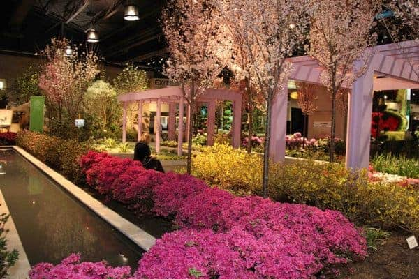 The Philadelphia Flower Show is the oldest and largest flower show in the world. (Photo use courtesy of the Philadelphia Flower Show)