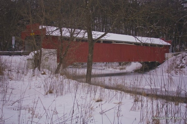 How to get to Geiger's Covered Bridge in Lehigh County, Pennsylvania.