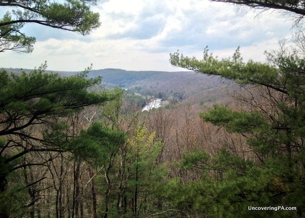 Seneca Point in Cook Forest State Park, Pennsylvania.