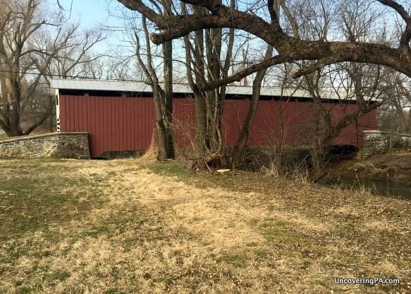 Lime Valley Covered Bridge in Lancaster County, PA