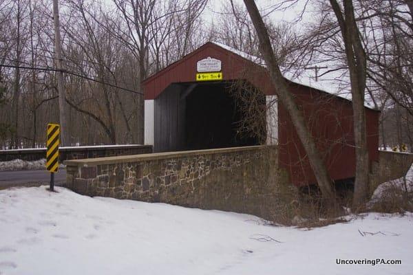 Pine Valley Covered Bridge near Doylestown, PA.
