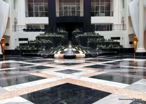 The Curtis Center Atrium in Philadelphia, Pennsylvania