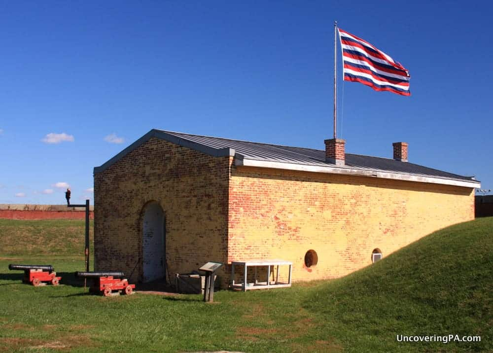 Visiting Fort MIfflin in Philadelphia, Pennsylvania travel blog