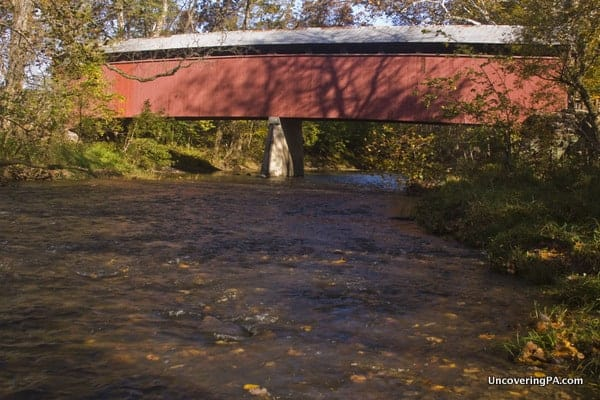 Fleisher Covered Bridge in Perry County, PA