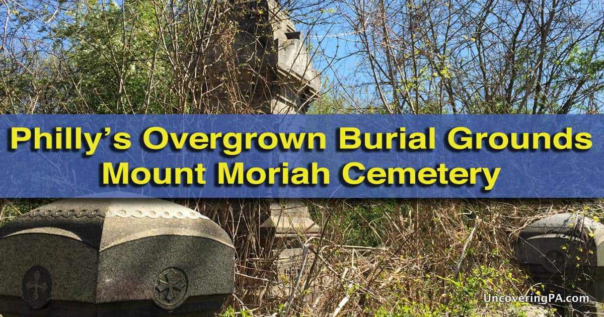 How to get to Mount Moriah Cemetery in Philadelphia, Pennsylvania
