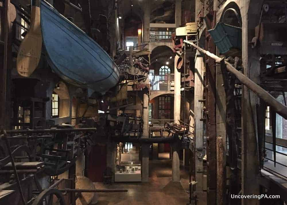 Visiting the Mercer Museum in Doylestown PA