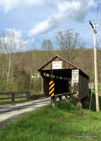 King Covered Bridge in Greene County PA