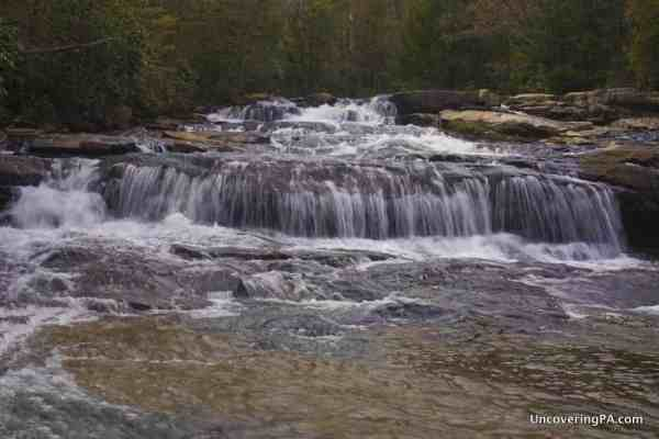 The Cascades Waterfalls in Ohiopyle State Park