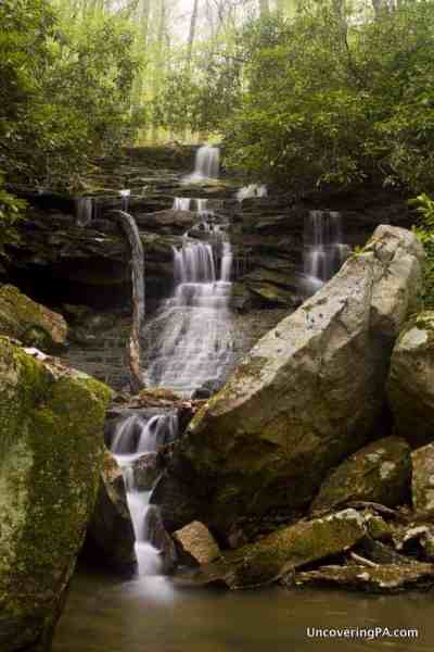 Sugar Run Falls in Ohiopyle State Park