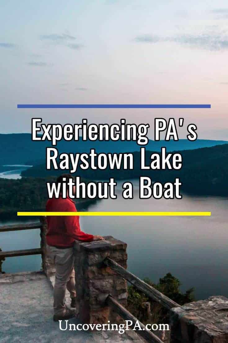 The top things to do at Raystown Lake in Pennsylvania without a boat. #Pennsylvania #summer #lake