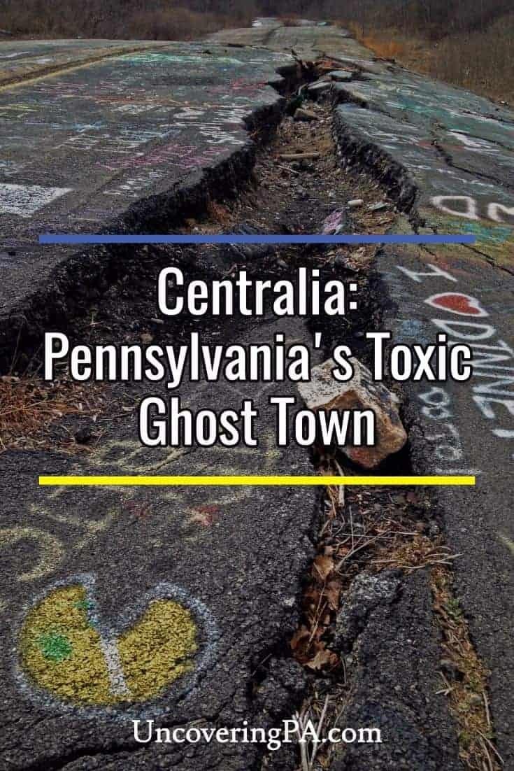 Centralia: Pennsylvania's Toxic Ghost Town #abandoned #urbex #travel