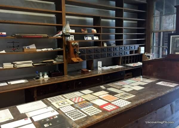 Things to do in State College: Post office at the American Philatelic Society