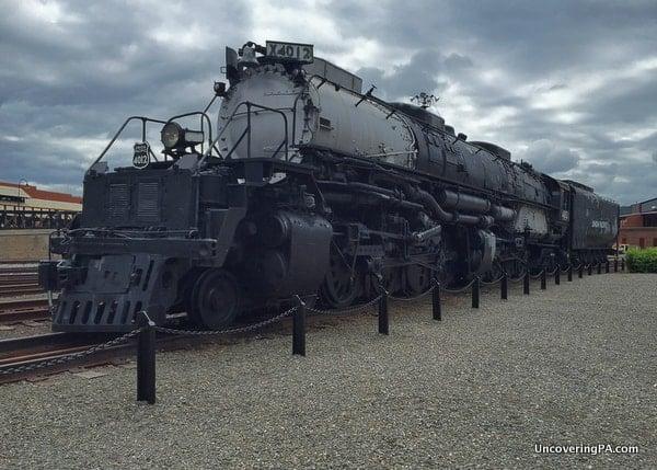 Big Boy Steamtown National Historic Site in Scranton, Pennsylvania