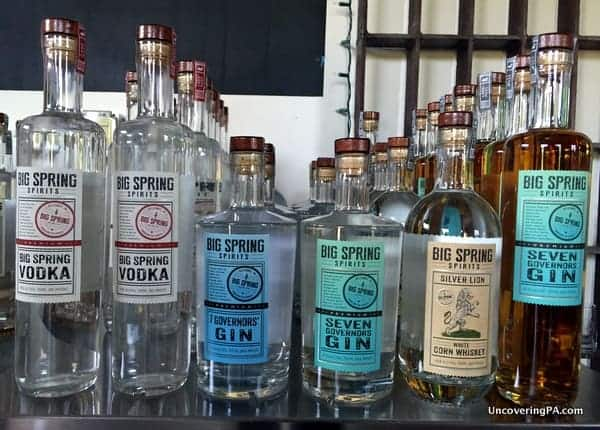 Coconut Rum at Big Spring Spirits