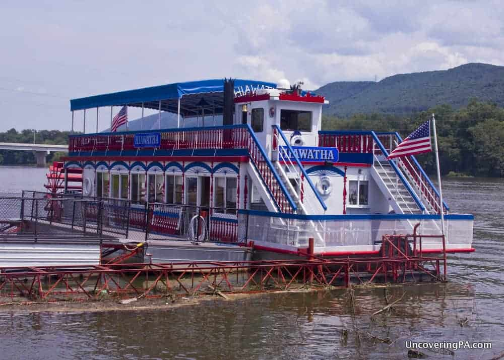 Riding the Hiawatha Riverboat in Williamsport, PA