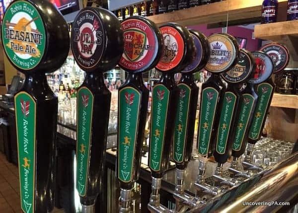 Robin Hood Brewing Company in Bellefonte PA