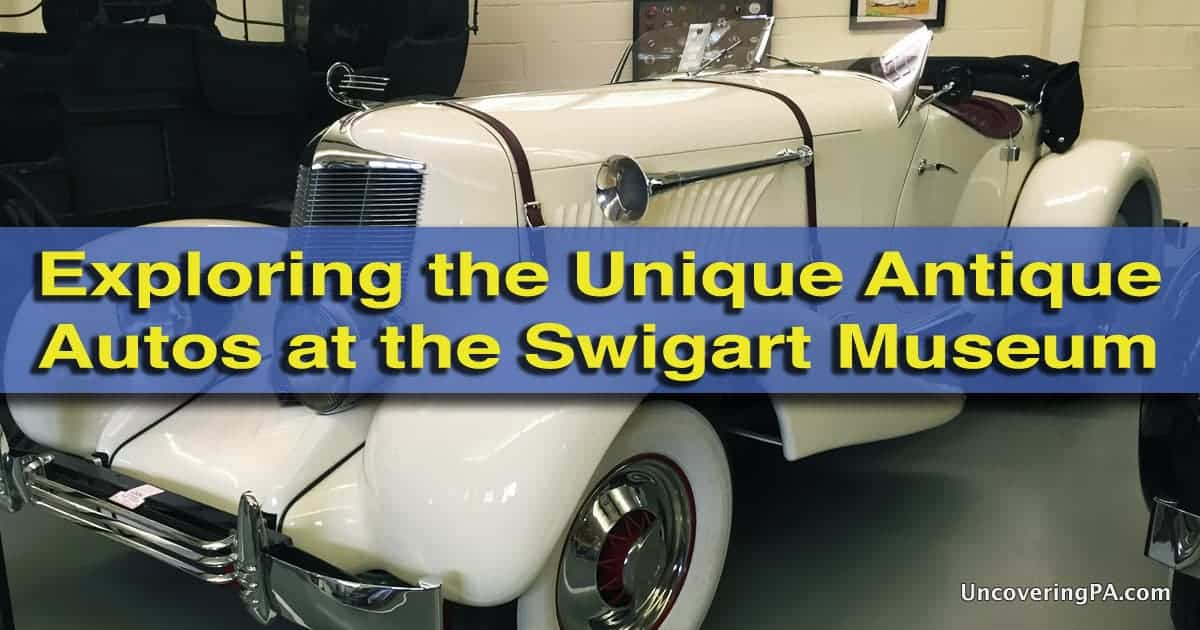 Visiting the Swigart Museum in Huntingdon PA