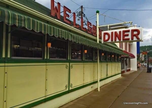 The Wellsboro Diner in Wellsboro, PA