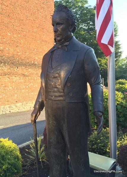 James Buchanan Statue Mercersburg PA