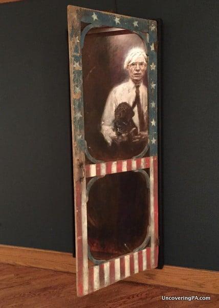 Jamie Wyeth Andy Warhol Brandywine River Museum of Art