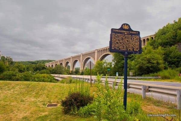 7 Man-Made Wonders of Pennsylvania - The Tunkhannock Viaduct