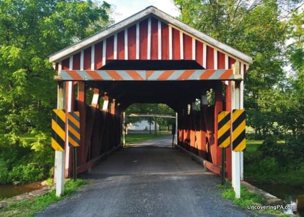 Himmels Church Covered Bridge