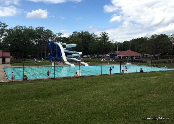Nay Aug Park Swimming Pools Scranton Pennsylvania