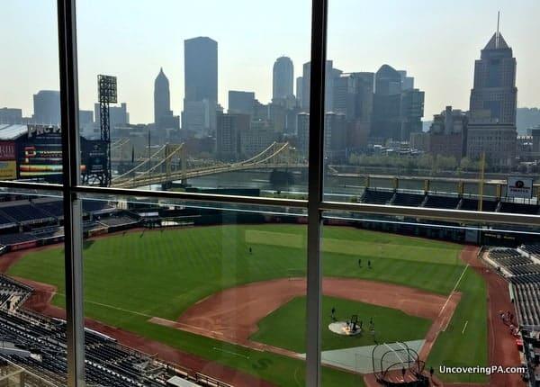 PNC Park Tour - View from Pressbox
