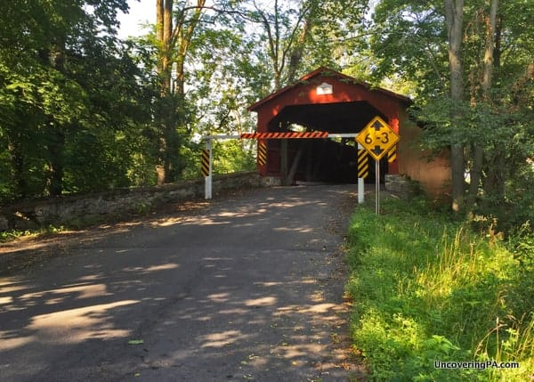 Rishel Covered Bridge in Northumberland County PA