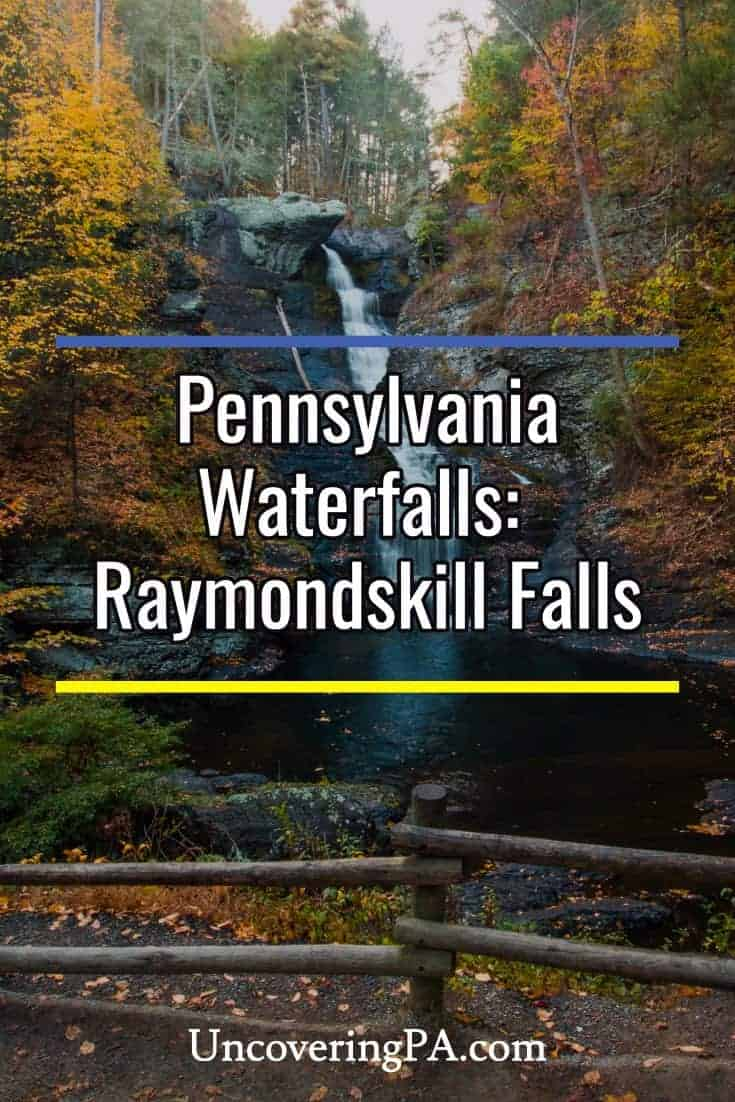 Pennsylvania Waterfalls: How to Get to Raymondskill Falls in the Delaware National Water Gap