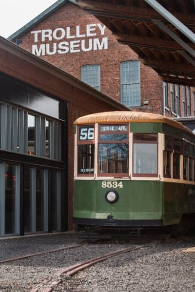 Visiting the Electric City Trolley Museum in Scranton, Pennsylvania