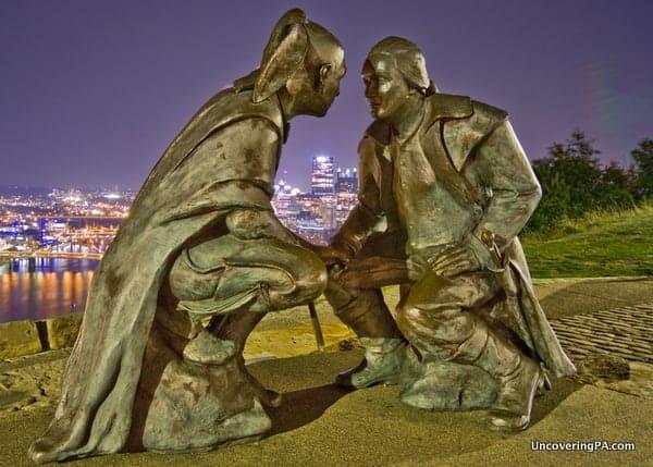 George Washington in Pittsburgh