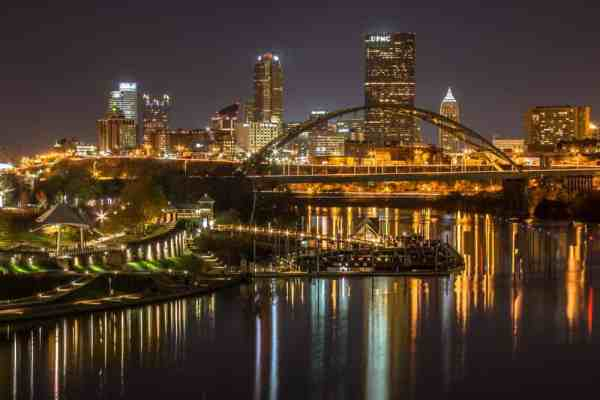 Photo Spots in Pittsburgh: Hot Metal Bridge