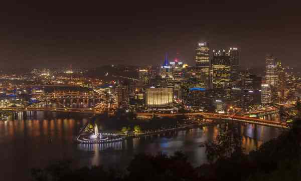 Best photo spots in Pittsburgh: Mount Washington
