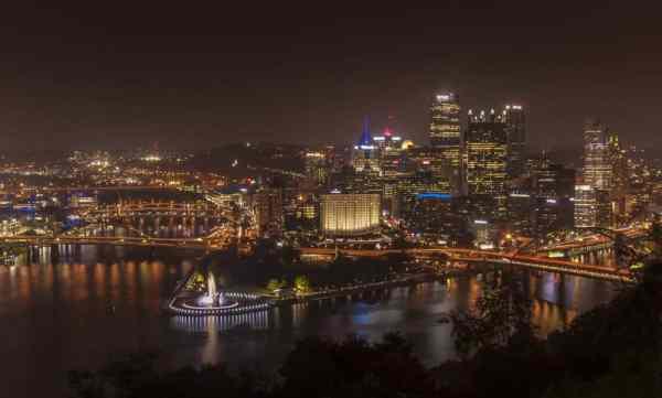 Visiting Mount Washington in Pittsburgh, Pennsylvania