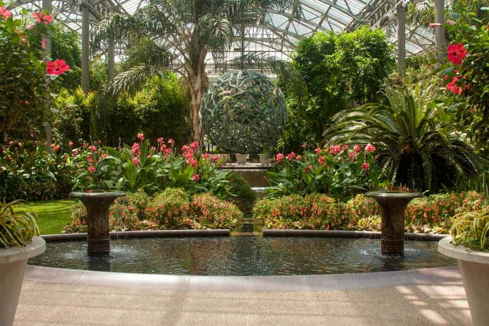 Inside The Conservatory At Longwood Gardens In Kennett Square, Pennsylvania