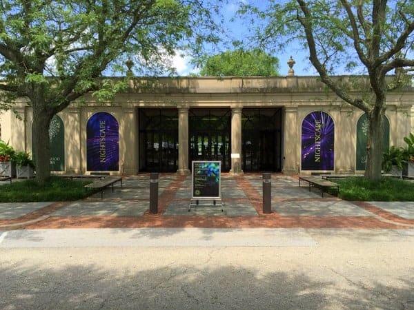 Entrance To Longwood Gardens In Kennett Square, Pennsylvania.