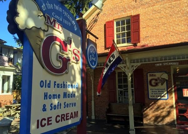 Mr. G's Ice Cream on Savor Gettysburg Food Tours, Pennsylvania