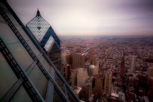 Where to take photos of Philly: One Liberty Observation Deck