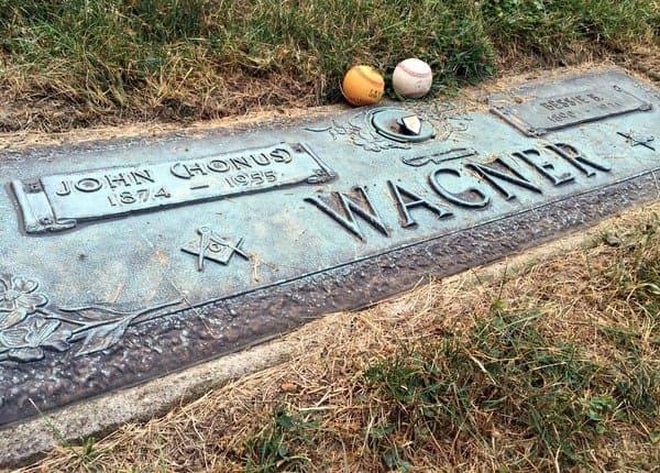 Honus Wagner's Grave, Baseball Hall of Famer, near Pittsburgh, Pennsylvania