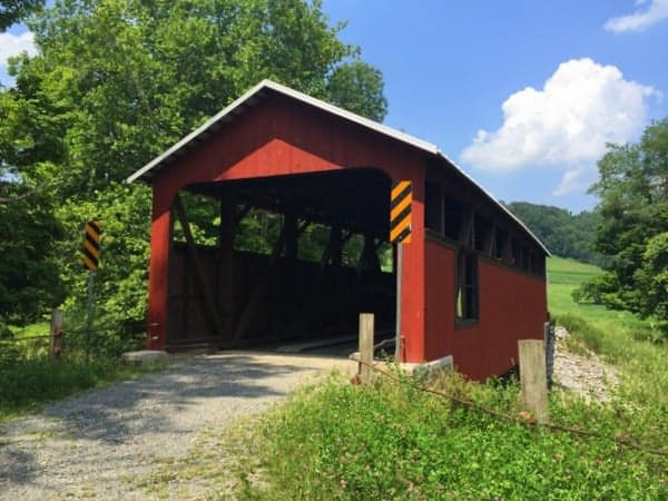 Lairdsville Covered Bridge in Lycoming County, Pennsylvania