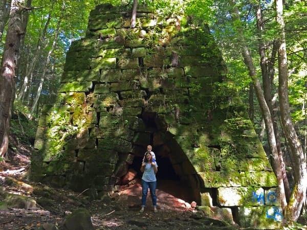 Rockland Furnace in Venango County, PA